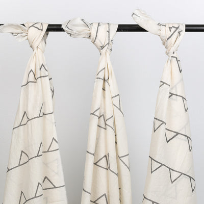 Shark Tooth Wrap | Grey