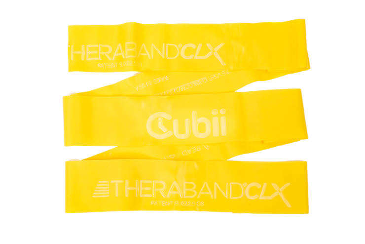 Theraband + Cubii Individual Workout Bands