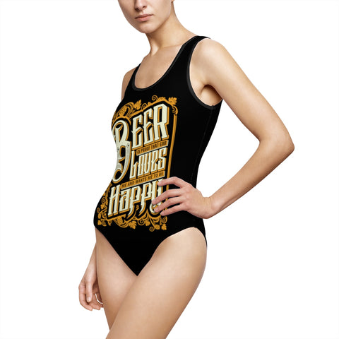 Beer God One-Piece Swimsuit