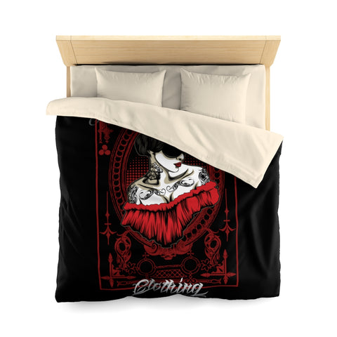 The Mask Microfiber Duvet Cover
