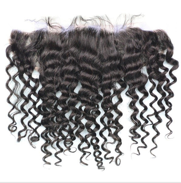 Curly Swiss Lace Frontal 16-18 inches - Wholesale Prices