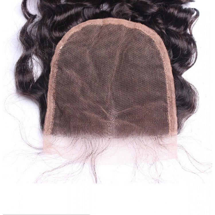 Curly Swiss Lace Closure 14-16 inches
