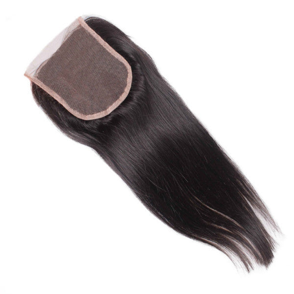 Straight Swiss Lace Closure 14-16 inches