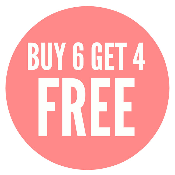 Buy 6 Bundles get 4 FREE (10 Bundles) - Curly Natural Wave