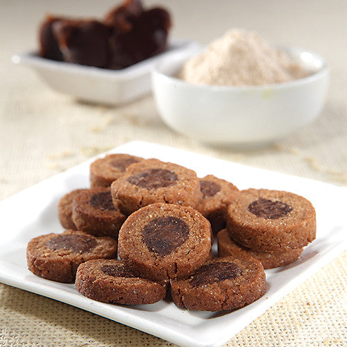 Gluten-Free Red Bean & Brown Rice Cookies