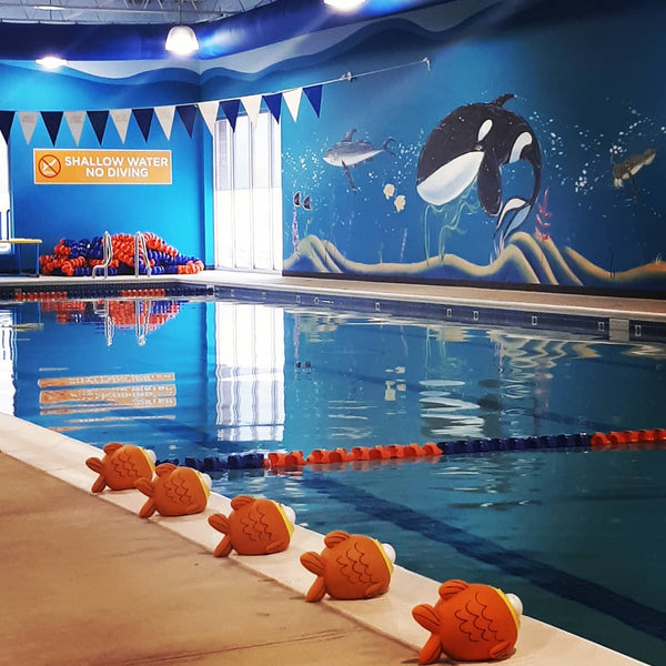 Goldfish Swim School Oakville (facility tour)