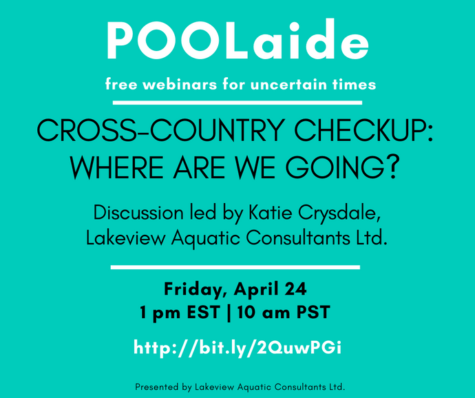 POOLaide Webinar: Cross-Country Checkup - Where are we going?