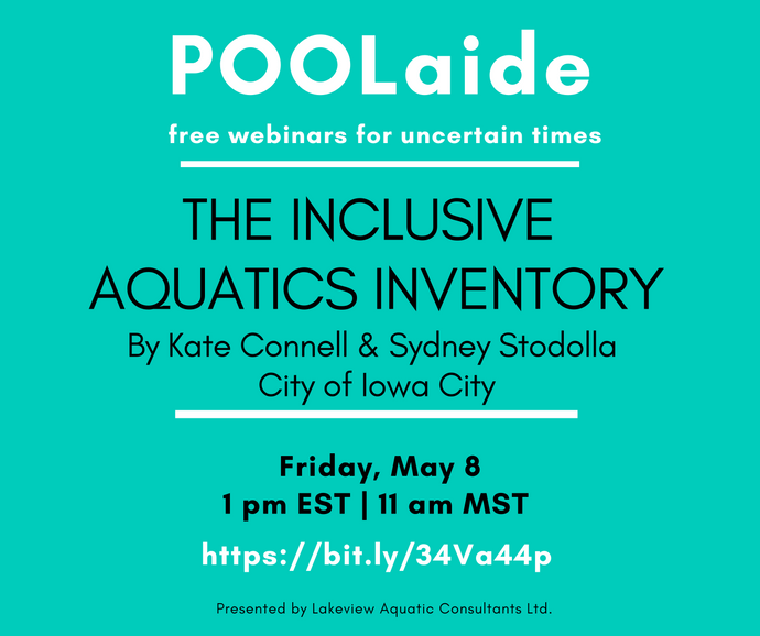 POOLaide Webinar: The Inclusive Aquatics Inventory