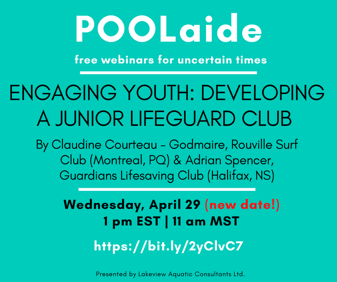 POOLaide Webinar: Engaging Youth: Developing a Junior Lifeguard Club
