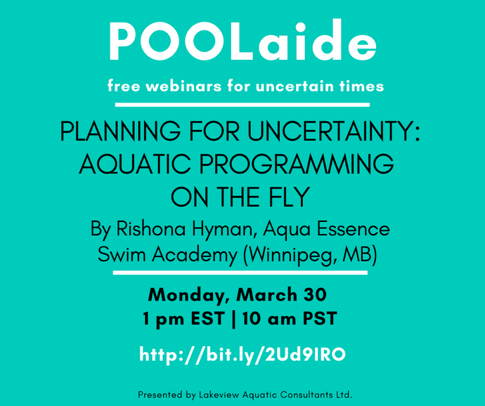 POOLaide Webinar: Planning for Uncertainty: Aquatic Programming on the Fly
