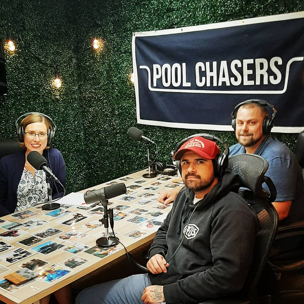 Guest on Pool Chasers!