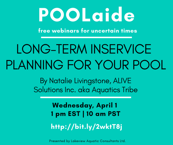POOLaide Webinar: Long-term Inservice Planning for Your Pool