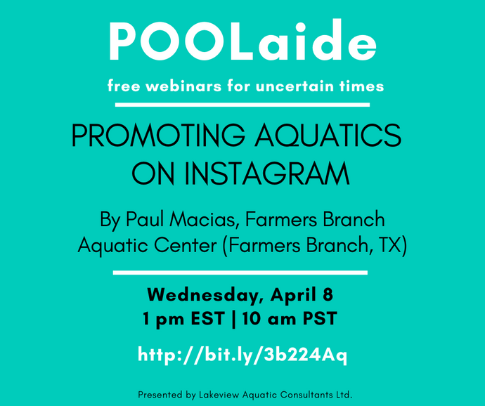 POOLaide Webinar: Promoting Aquatics on Instagram