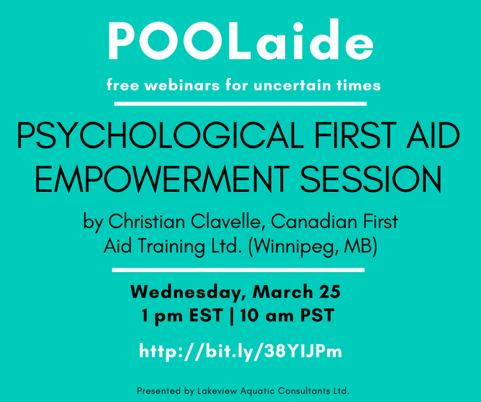POOLaide Webinar: Psychological First Aid Empowerment Session