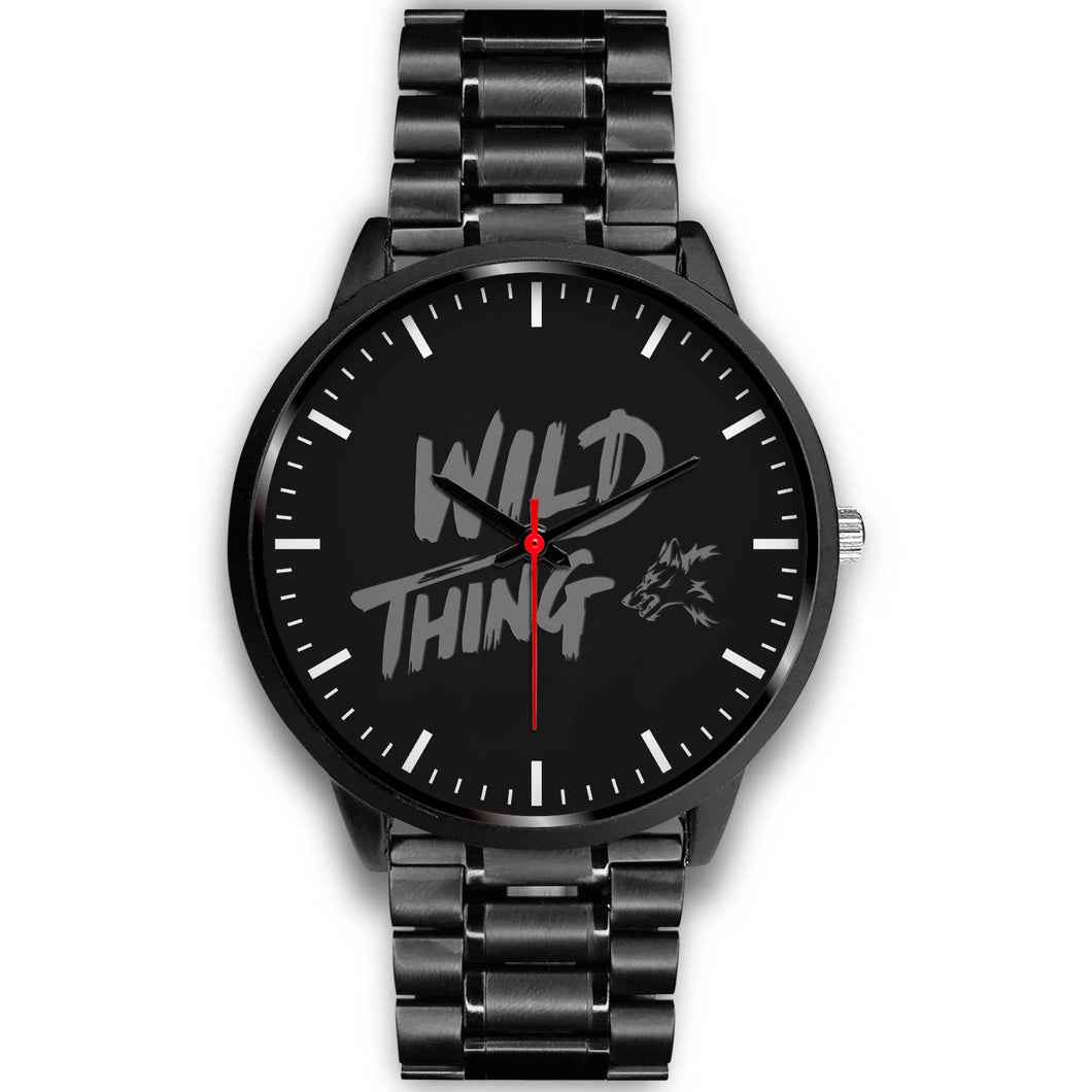 Wild Thing Black Metal Watch