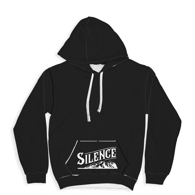 Silence Quote Hoodie
