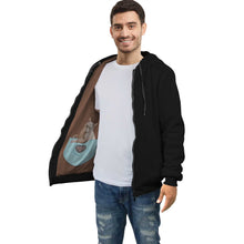 The hidden cats zip hoodie