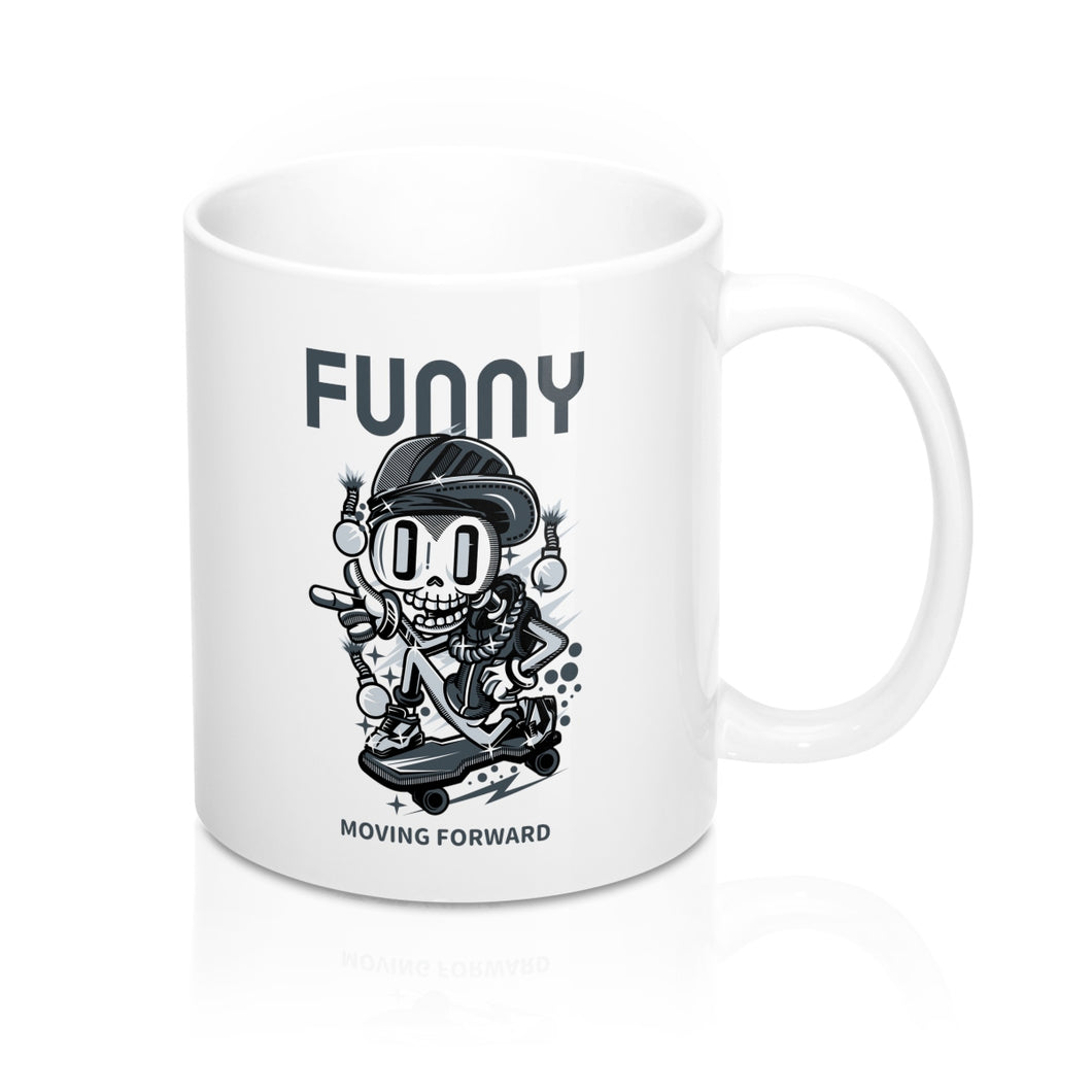 Menstylica Mug 11oz Funny Moving Forward | Gift Ideas | Funny Gift Ideas