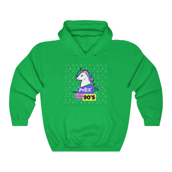 Menstylica Unisex Heavy Blend™ Hooded Sweatshirt - Unicorn Made in the 90's