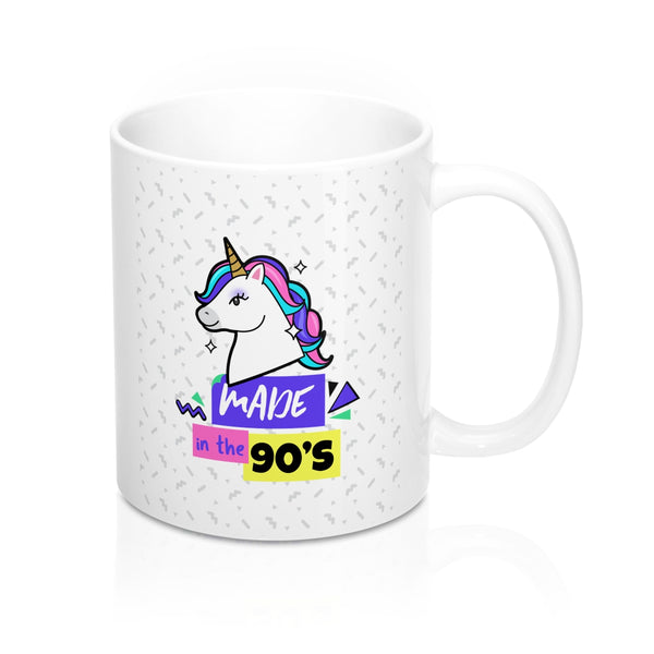 Menstylica Mug 11oz - Unicorn Made in the 90's