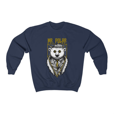 Menstylica Unisex Heavy Blend™ Crewneck Sweatshirt - Mr. Polar