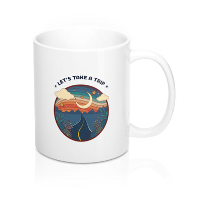 Menstylica Let's Take A TripMug 11oz
