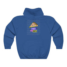 Menstylica Unisex Heavy Blend™ Hooded Sweatshirt - Made in 90's For Pizza Lovers