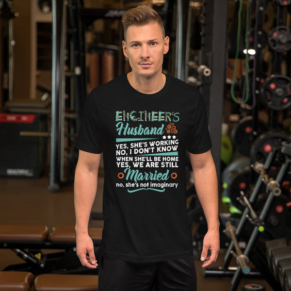 Engineer's husband Short-Sleeve Unisex T-Shirt