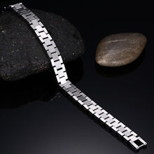Metal Watchband Style Solid Stainless Steel Bracelet