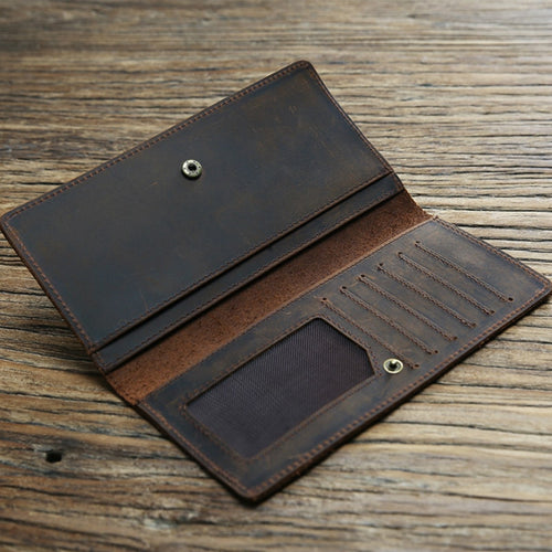 Long Business Slim Wallet