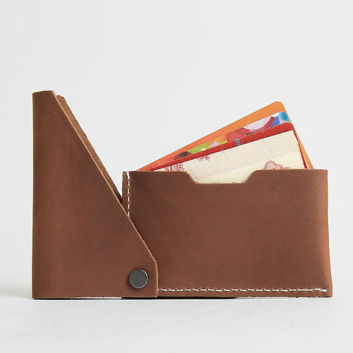 Slim Genuine Leather Wallet