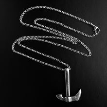 Black Titanium Steel Axe Pendant Necklace For Men - Sky Bracelets