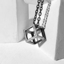Stainless steel Cube Necklace