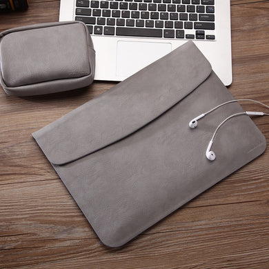 Ultra Thin PU Leather Laptop Cover
