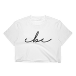CBC LOGO WOMENS CROP TOP
