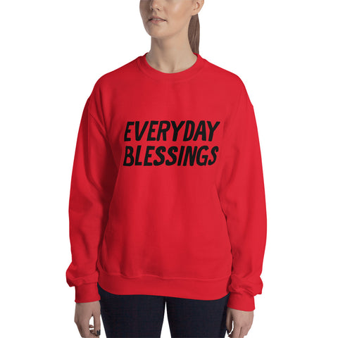 EVERYDAY BLESSING WOMENS SWEAT