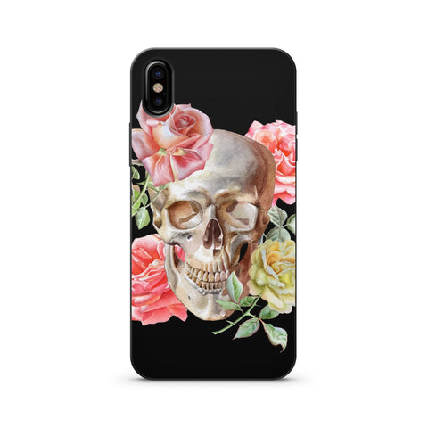 BLACK WOOD PRINTED PHONE CASE COVER