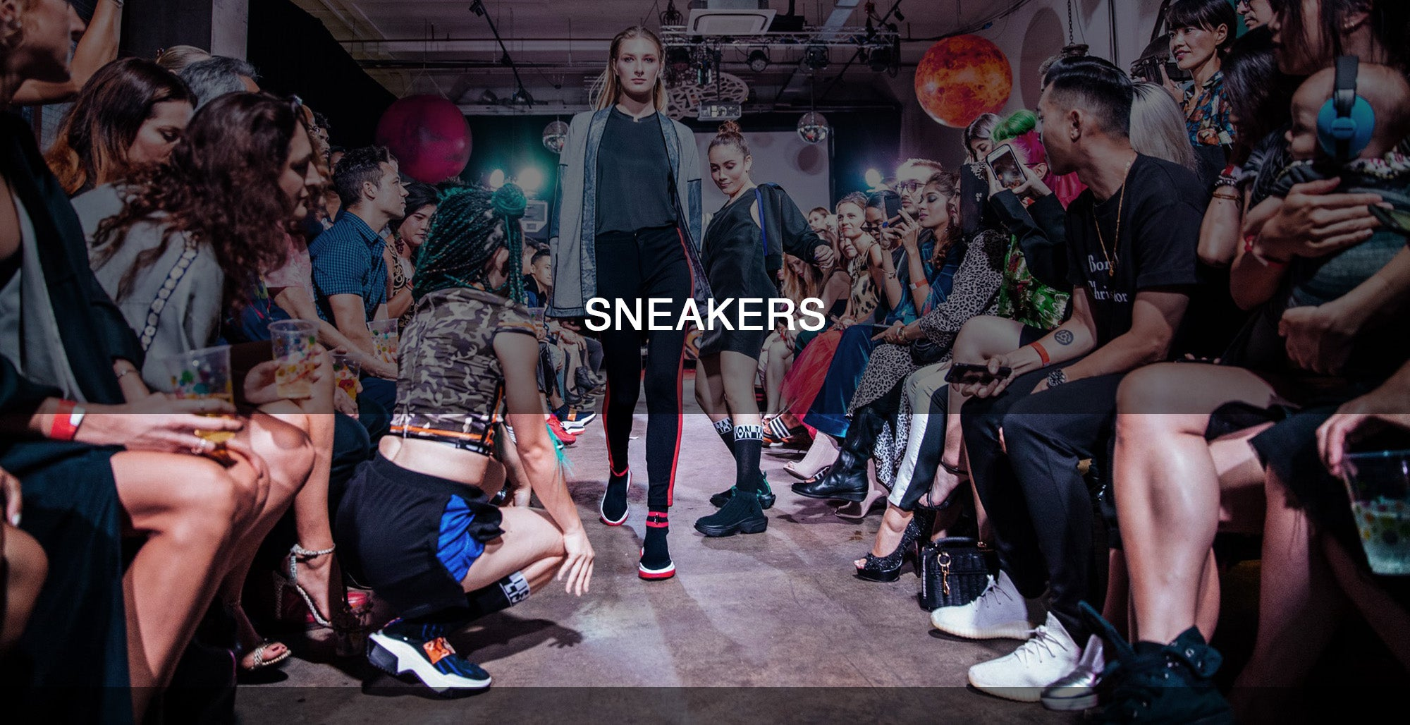 lisa von tang sneaker launch party. sock trainers. limited edition sneakers.