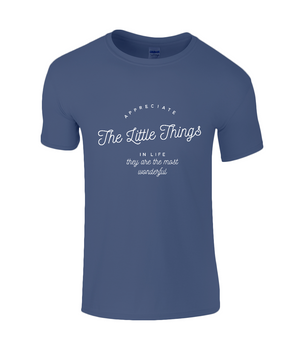 Appreciation Quote - Kids T-Shirt with White Writing