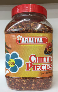 Chili Pieces 500g (crushed dried chillies)