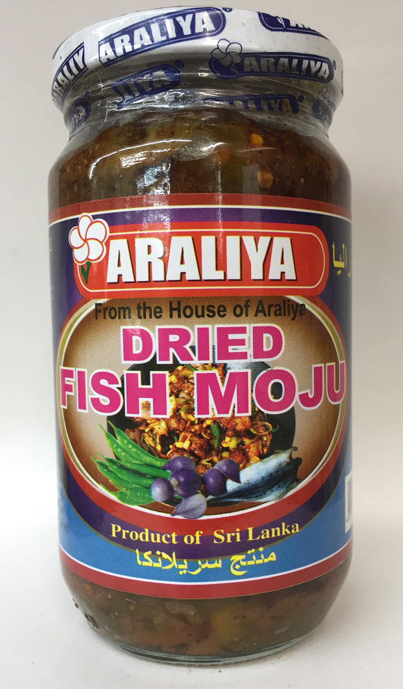 Spicy Dry Fish Moju