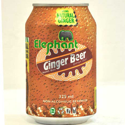 GINGER BEER CANS