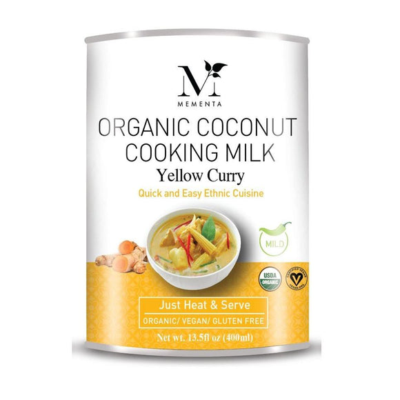 Organic Coconut Cooking Milk - Yellow Curry - 400ml