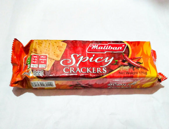 SPICY CRACKERS (MALIBAN)