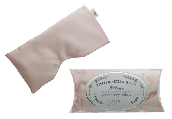 Lavender Aromatherapy Eye Pillow with flaxseed blush