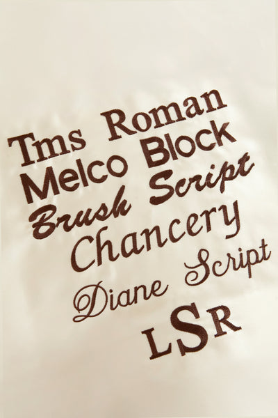 Satin Pillowcase with embroidery of name, monogram, or phrase