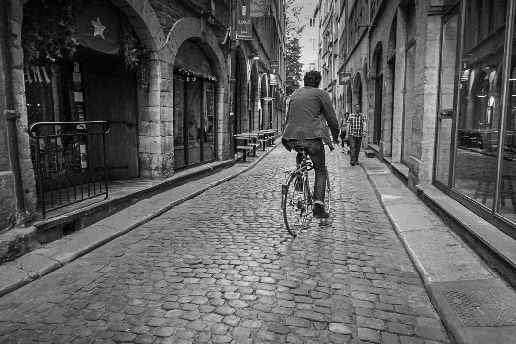 Bicycle in a French street
