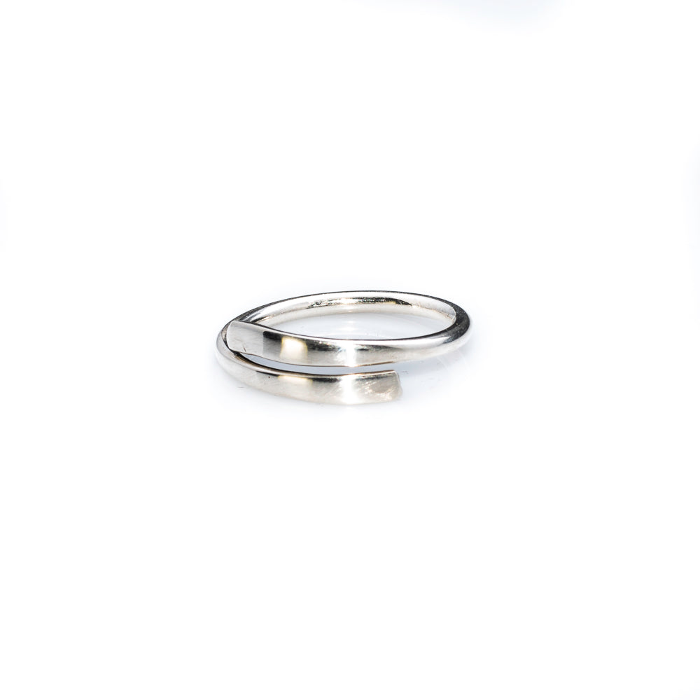 Sterling silver simplicity ring