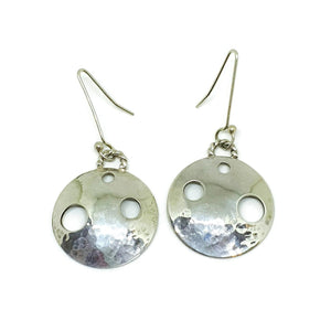 Sterling silver Luna earrings