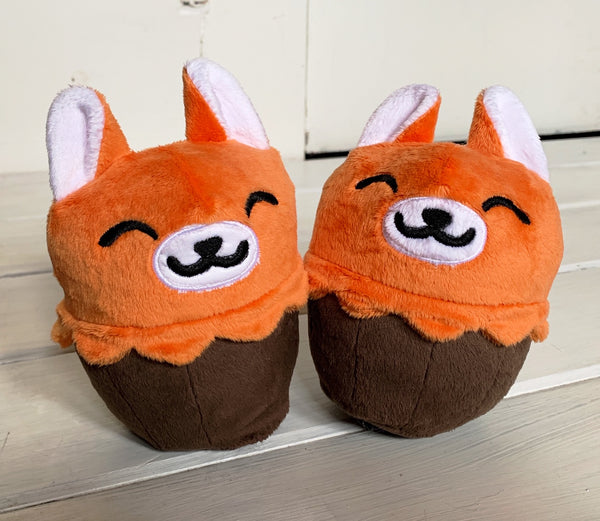 Cupcake Fox Plush Stuffed Animal - Morphe